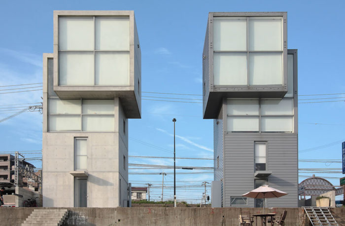 4x4 House, Kobe, Japan, Tadao Ando