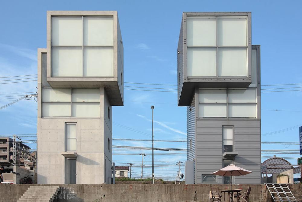 4x4 House, Kobe, Japan, Tadao Ando