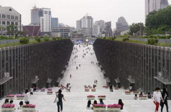 Ewha Womans University, Seoul, South Korea, Dominique Perrault Architecture