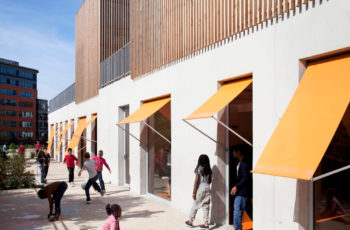 Gavroche Centre for Children, Saint-Ouen, France, SOA Architectes