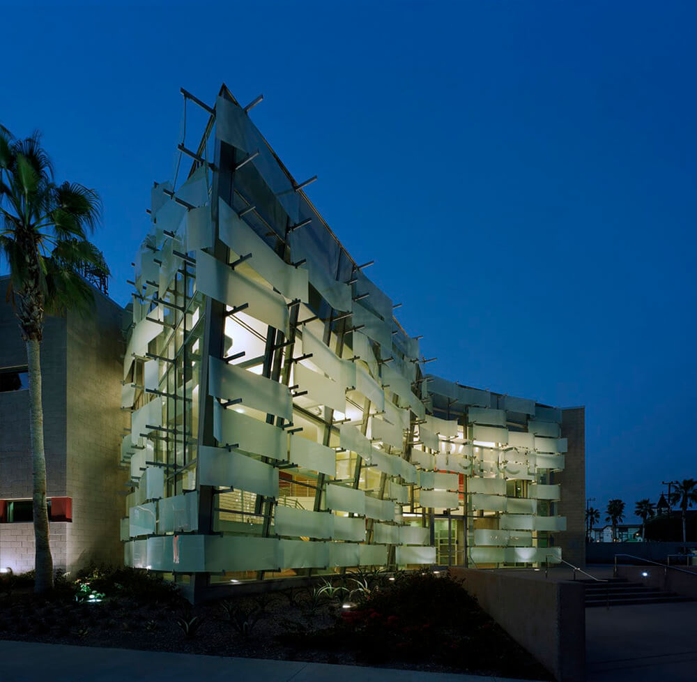 Hollenbeck Replacement Police Station, Los Angeles, California, United States, AC Martin