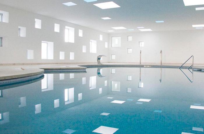Indoor Pool for a Hotel, Porto Cristo, Majorca, A2arquitectos