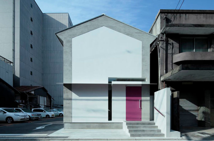 Keyhole House, Kyoto, Japan, EASTERN Design Office