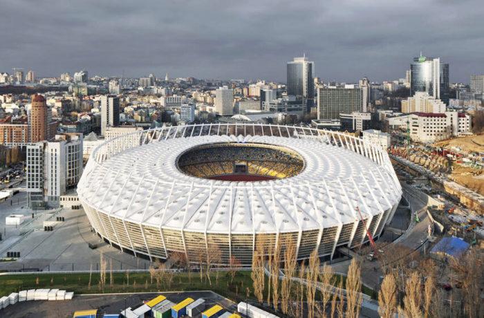 Kiev Olympic Stadium, Kiev, Ukraine, Von Gerkan, Marg und Partner