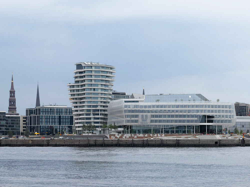 Marco Polo Tower, Hamburg, Germany, Behnisch Architekten