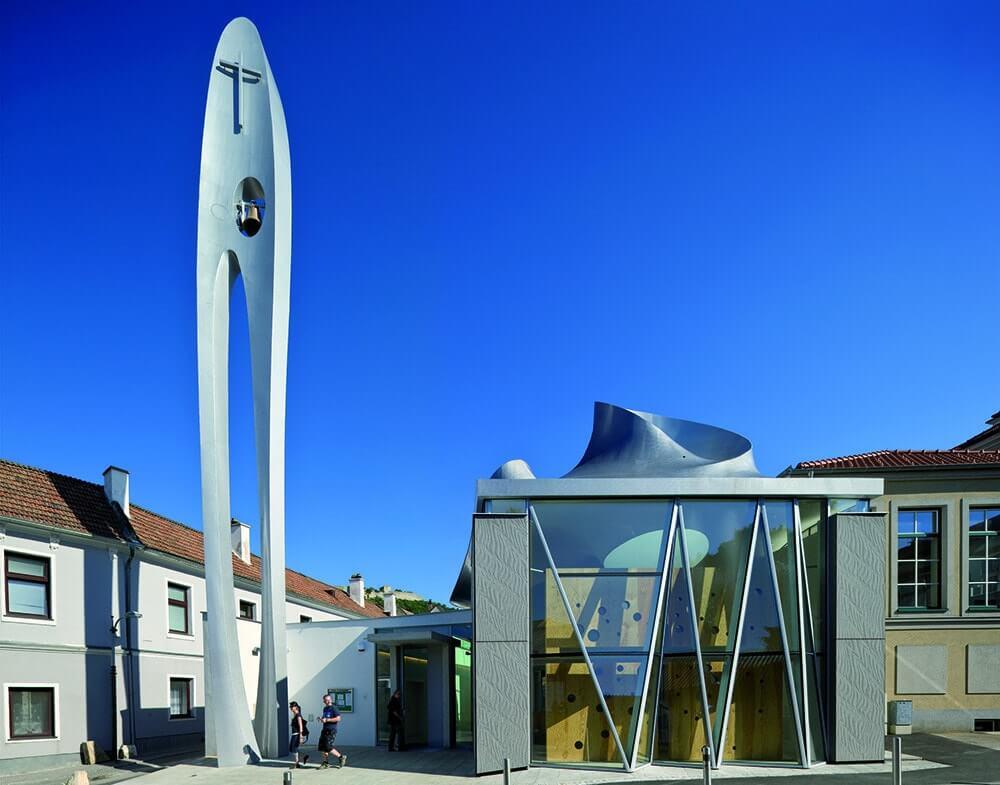 Martin Luther Church, Vienna, Austria, Coop Himmelb(l)au
