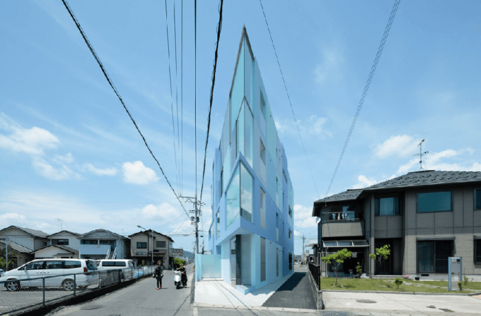 On the Corner, Higashiōmi, Japan, EASTERN Design Office