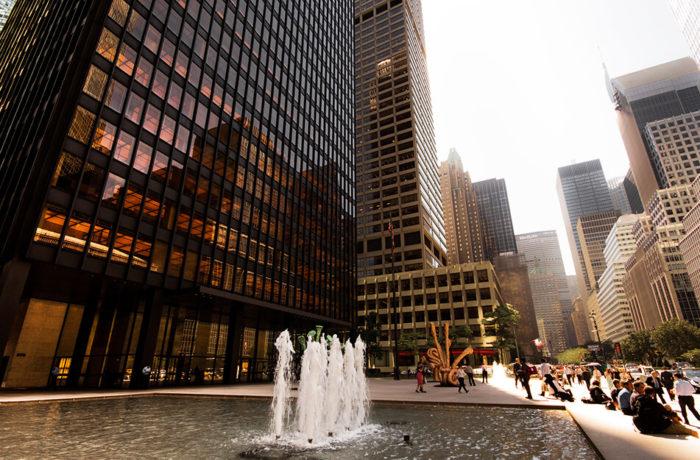 Seagram Building, New York, USA, Mies van der Rohe