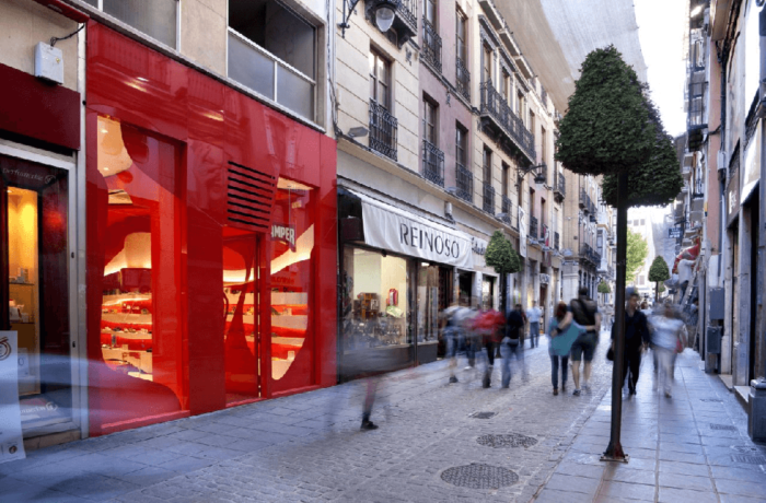 Store Reform in Granada for Camper, Granada, Spain, A-cero