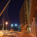 Trinity Bridge, Manchester, United Kingdom, Santiago Calatrava