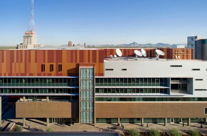 Walter Cronkite School of Journalism & Mass Communication, Phoenix, Arizona, United States, Ehrlich Yanai Rhee Chaney Architects