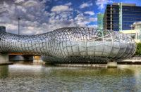 Webb Bridge, Melbourne, Australia, Denton Corker Marshall