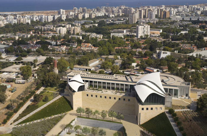 Yitzak Rabin Center, Tel Aviv, Israel, Safdie Architects