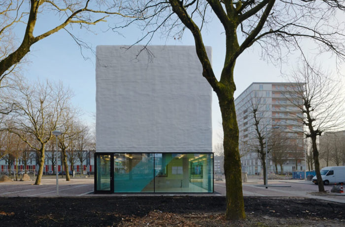 Youth Centre Amsterdam-Osdorp, Amsterdam, Netherlands, Atelier Kempe Thill