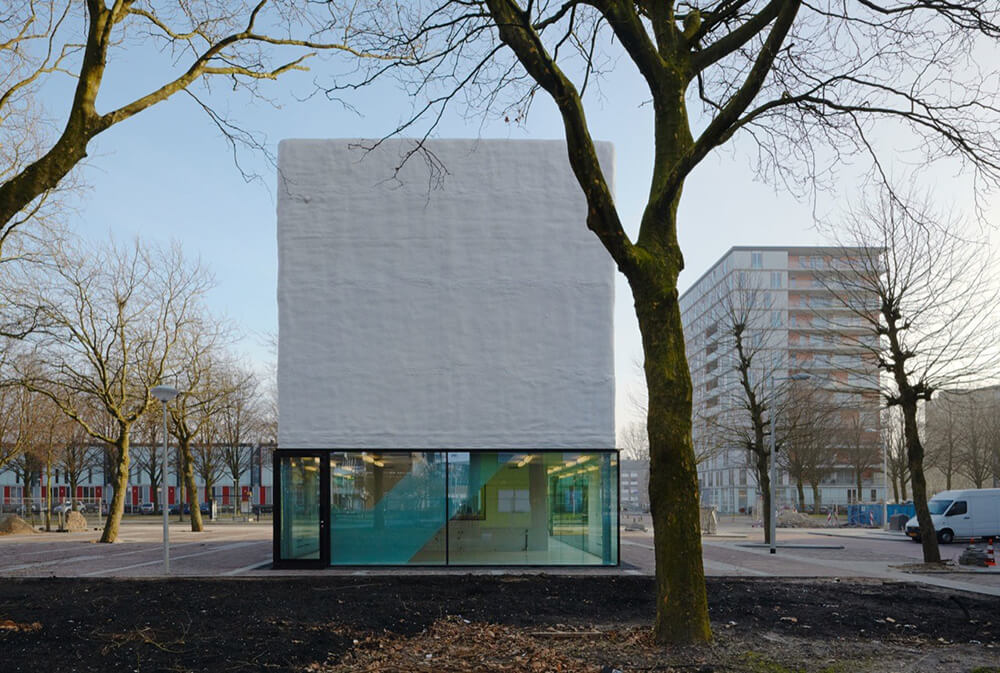 Youth Centre Amsterdam-Osdorp, Amsterdam, Netherlands, Atelier Kempe Thill