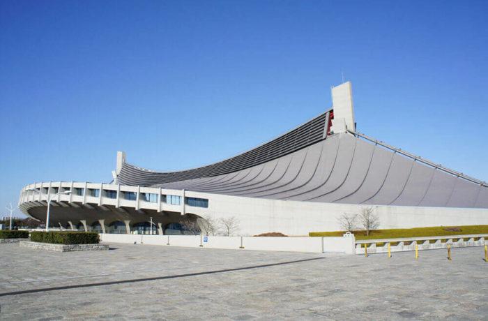 Yoyogi National Gymnasium, Tokyo, Japan, Kenzo Tange Associates