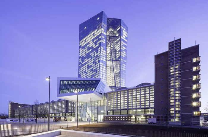European Central Bank, Frankfurt, Germany, Coop Himmelb(l)au