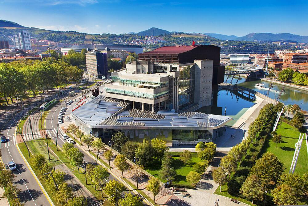 Euskalduna Conference Centre and Concert Hall, Bilbao, Spain, Soriano y Asociados Arquitectos
