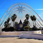 L'Umbracle, Valencia, Spain, Santiago Calatrava