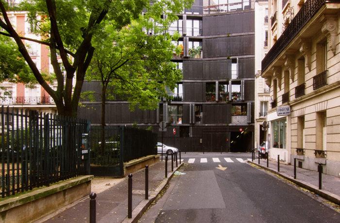 Rue des Suisses, Paris, France, Herzog & De Meuron