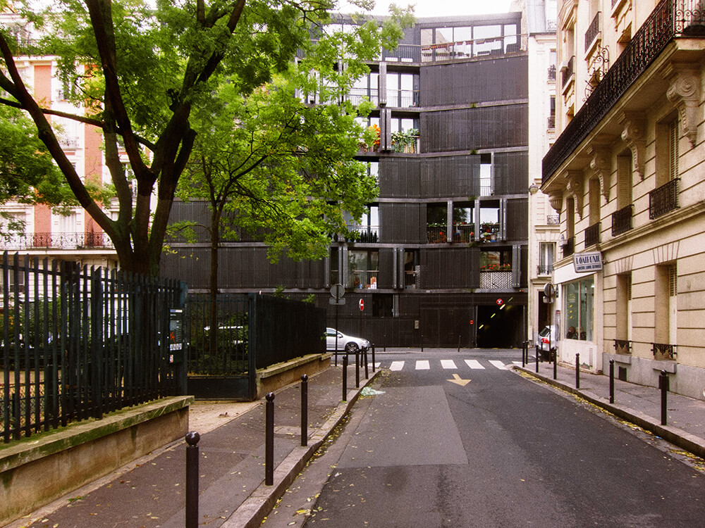 Rue des Suisses, Paris, France, Herzog & De Meuron