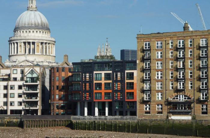 Sir John Lyon House, London, UK, Sidell Gibson Architects