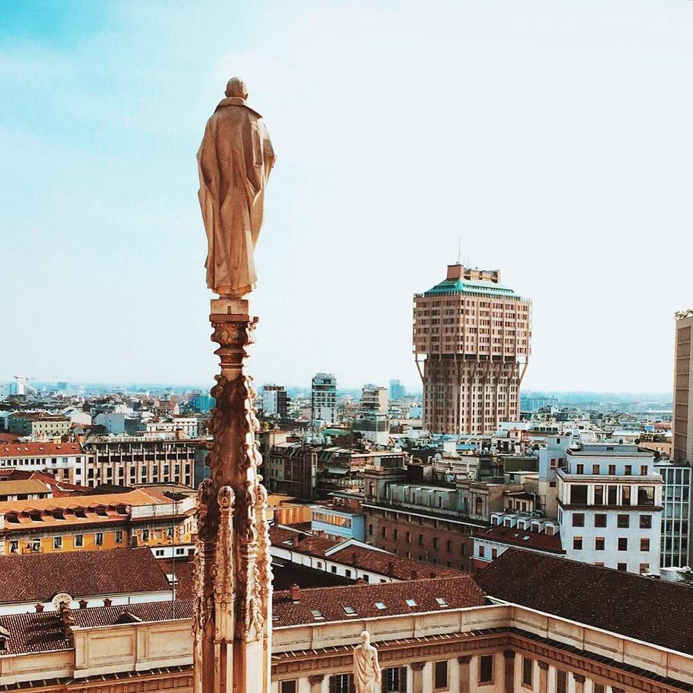 Torre Velasca, Milan, Italy, BBPR Group