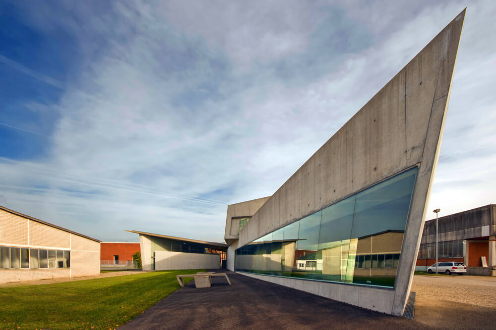 Vitra Fire Station, Weil am Rhein, Germany, Zaha Hadid Architects