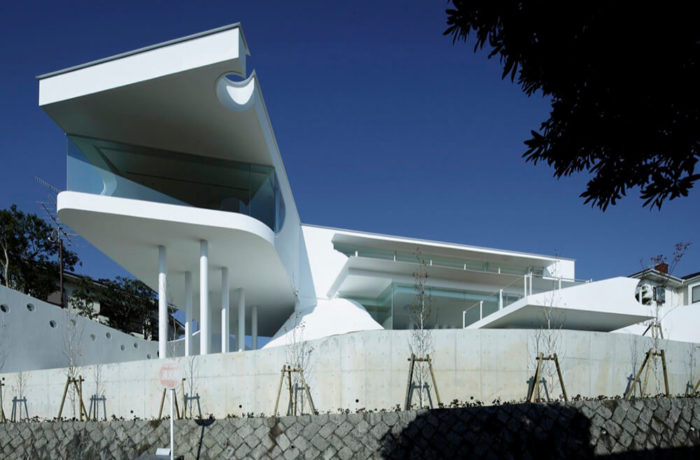 Mountain and Openings, Takarazuka, Japan, EASTERN Design Office