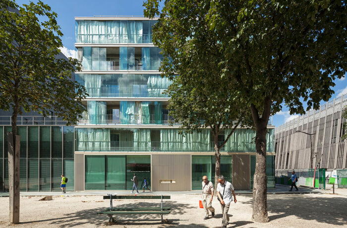 Montmarte Wintergarden Housing, Paris, France, FRES Architectes