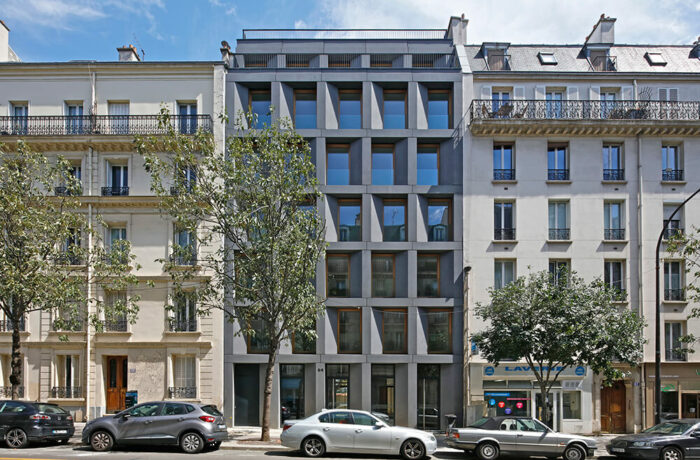 Netter Social Housing, Paris, France, FRES Architectes