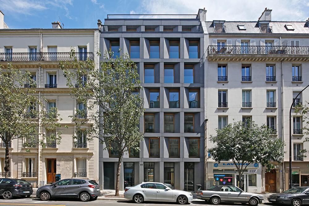 Netter Social Housing, Paris, France, FRES Architectes