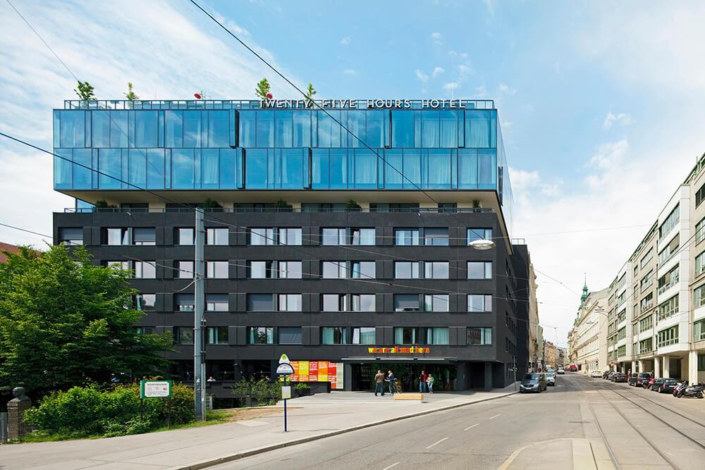 25hours Hotel Vienna, Vienna, Austria, BWM Architekten