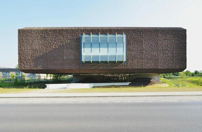 Bibliothèque Georges Perec, Marne-la-Vallée, France, Aldric Beckmann Architectes