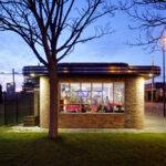 Cafeteria van Ruyven, Maassluis, Netherlands, derksen|windt architecten