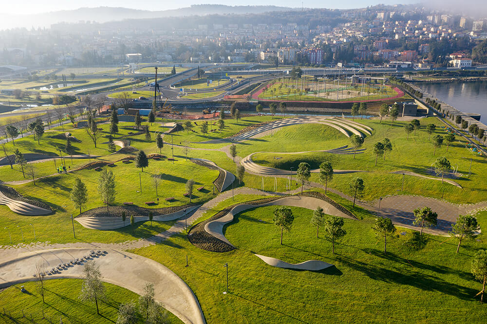 Koper Central Park, Koper, Slovenia, Enota