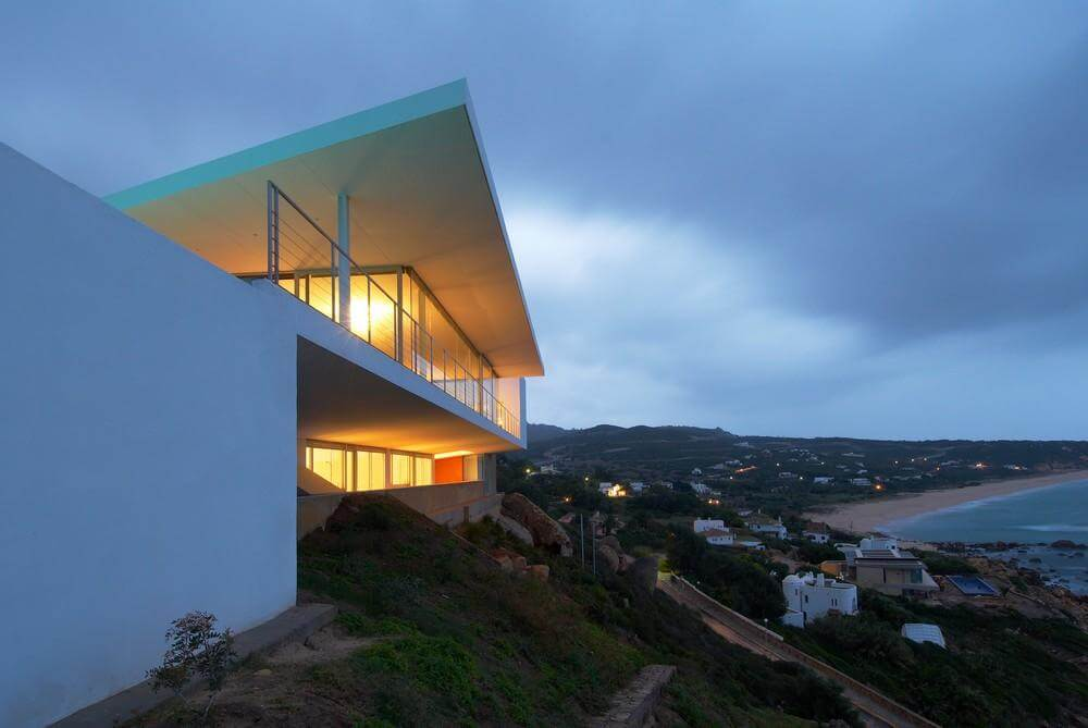 One Family House in Zahara de los Atunes, Zahara de los Atunes, Spain, Alfonso Alzugaray