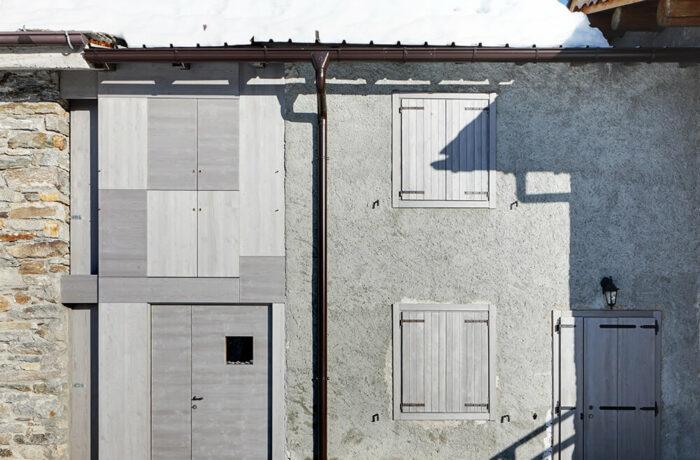 Wardrobe in the Landscape, Madesimo, Italy, ES-ARCH Enrico Scaramellini