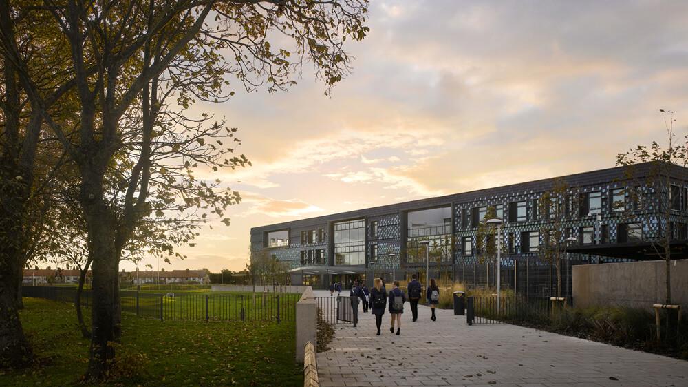 Highfield Humanities College, Blackpool, United Kingdom, Feilden Clegg Bradley Studios