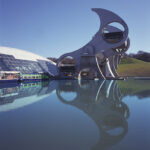 The Falkirk Wheel and Visitor Centre, Falkirk, Scotland, RMJM