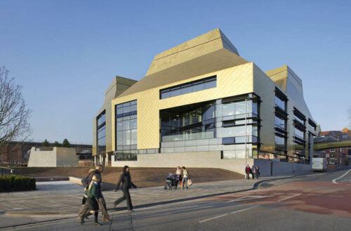 The Hive, Worcester, United Kingdom, Feilden Clegg Bradley Studios