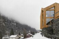 Swisshouse XXXV, Rossa, Switzerland, Davide Macullo Architects