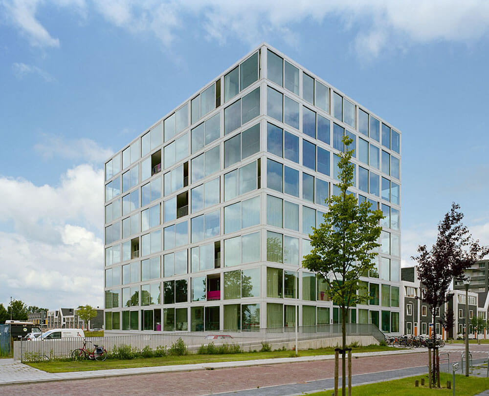 Atriumtower Hiphouse Zwolle, Zwolle, Netherlands, Atelier Kempe Thill