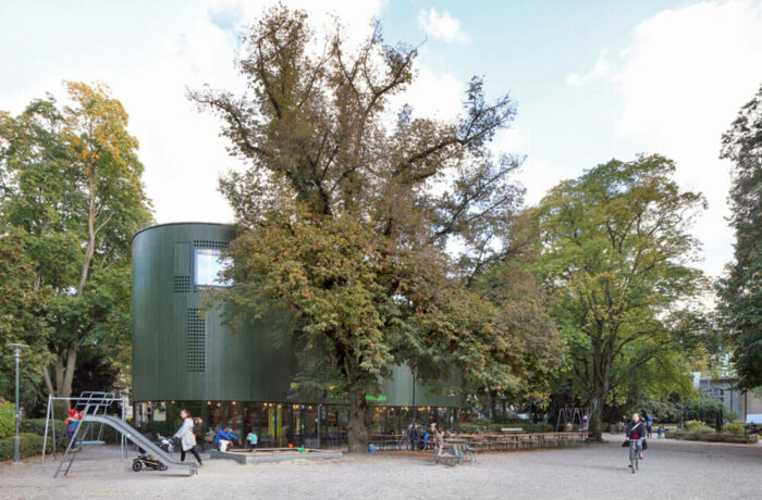 Community Centre Aussersihl, Zurich, Switzerland, EM2N