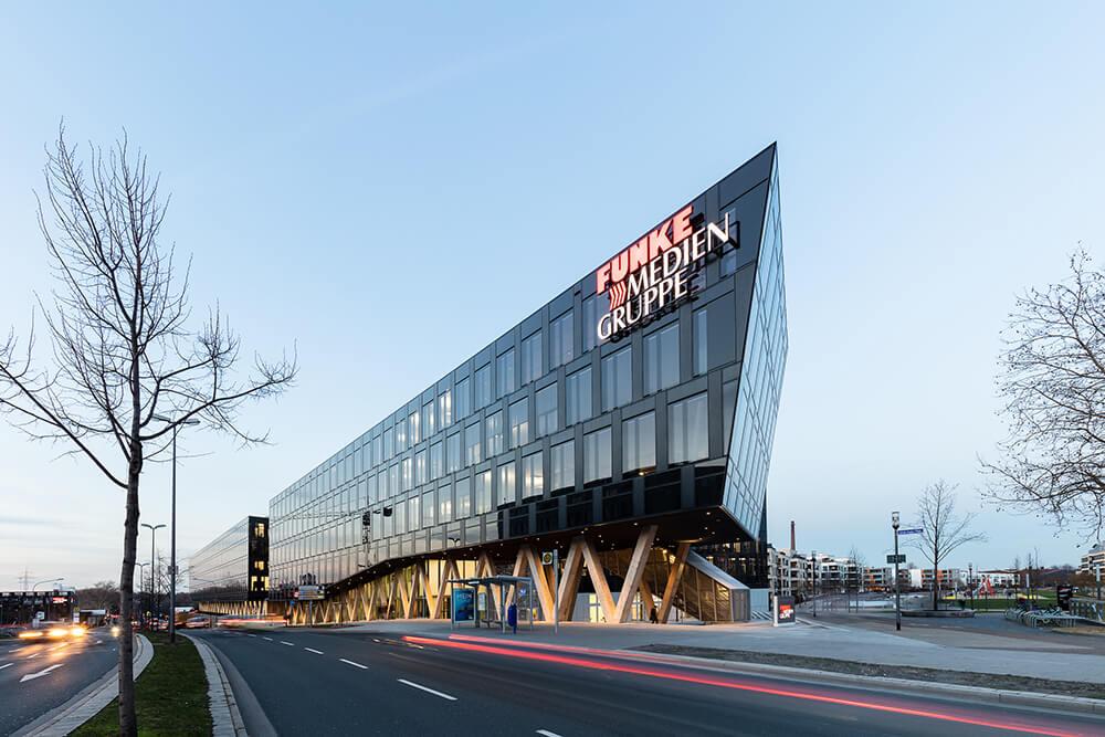Funke Media Office, Essen, Germany, AllesWirdGut