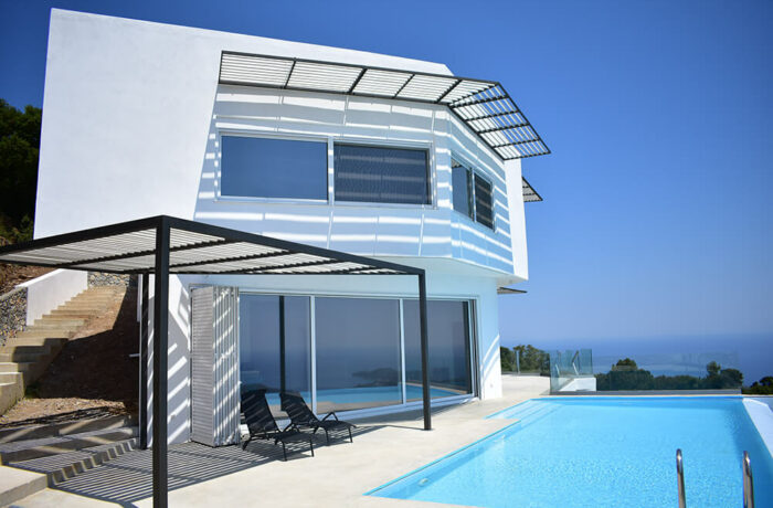 Holiday Residence in Skiathos, Skiathos, Greece, P Arch Studio