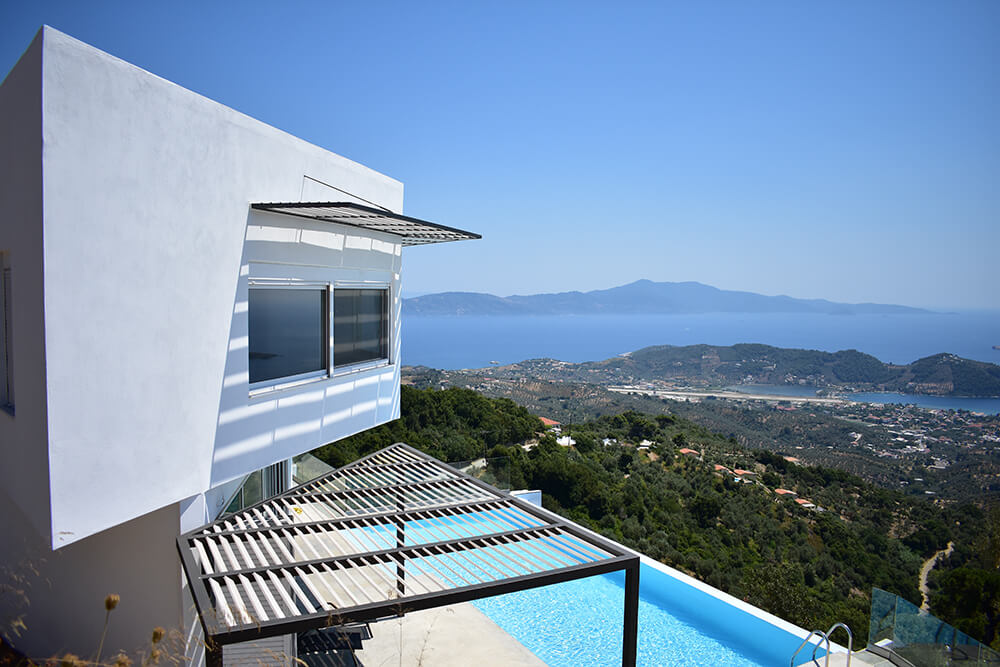 Holiday Residence in Skiathos, Skiathos, Greece, P Arch Studio