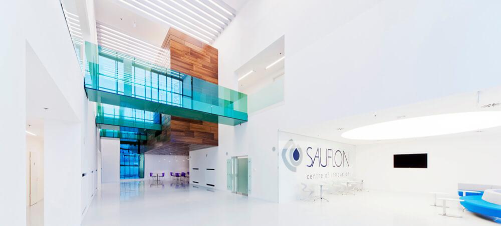 Sauflon Centre of Innovation, Gyál, Hungary, Földes Architects