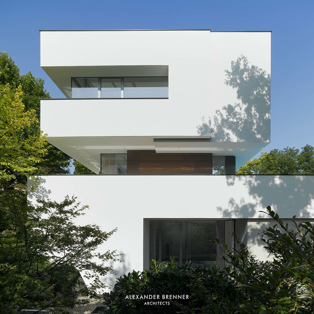 House Heidehof, Stuttgart, Germany, Alexander Brenner Architects
