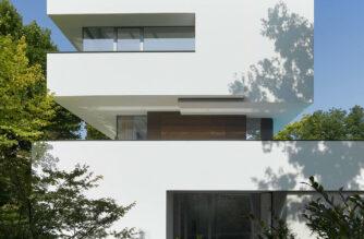 House Heidehof, Stuttgart, Germany, Alexander Brenner Architects